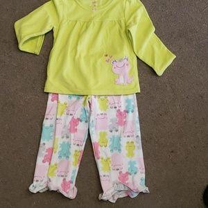 3/$10 girls pajamas